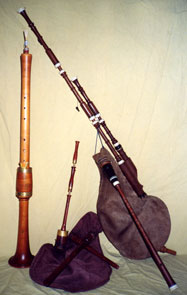 Bombard and bagpipes